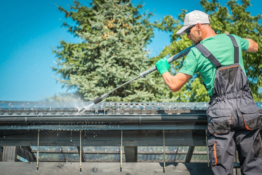 Rooftop Cleaning by Roof Type