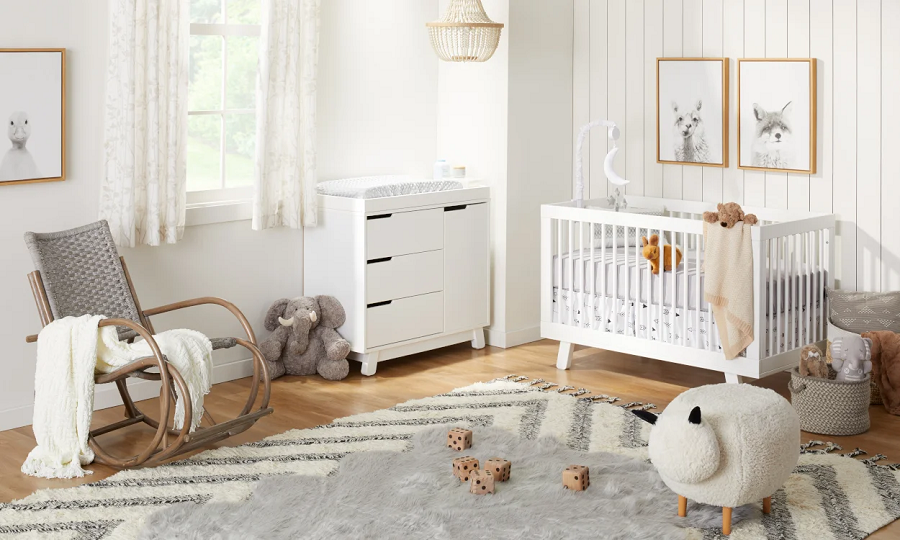 Where to safely keep old baby furniture
