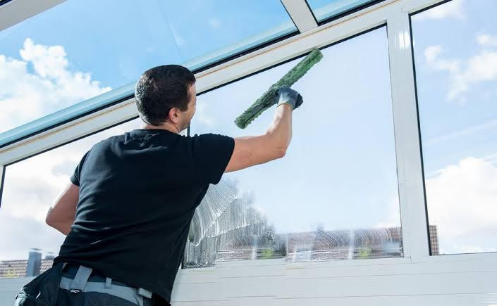 Preventive Maintenance on Windows and Clogged Gutters