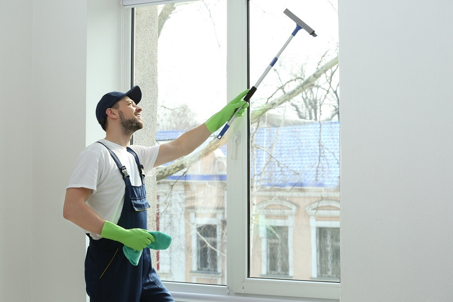 Professional Window Cleaning both Inside and Out