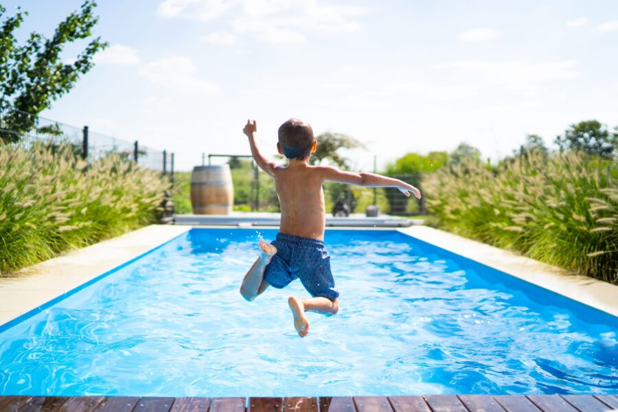 Swimming Pools & Benefits for Kids